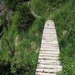 Pasarela del Barraco d'Els Molineses