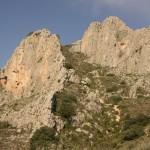 Segundo tramo de ascensión por el Regall de la Penya - Benicadell