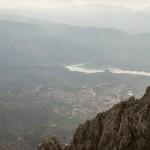 Vista de Beniarrés y el pantano