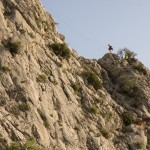 Escaladores en la Cresta del Benicadell