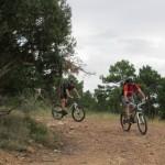 Pista de bajada por el Barranco de Ligros