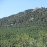 Vista de la Ermita de nuestra señora del Tremedal