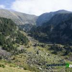Vista desde el inicio de la ruta