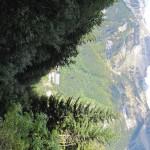 Vista de Canfranc desde la pista
