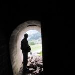 Bunkers en la carretera hacia Candanchú