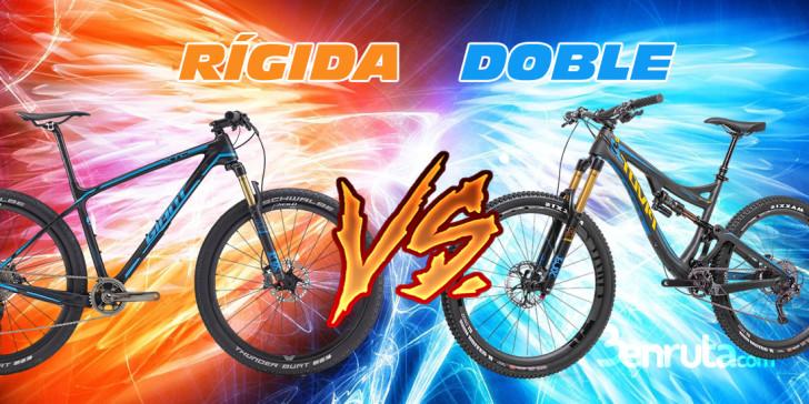 Bicicletas rígidas o de doble suspensión – ¿Cuál compro?