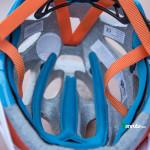 Vista interior del casco