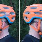 Vista lateral del casco