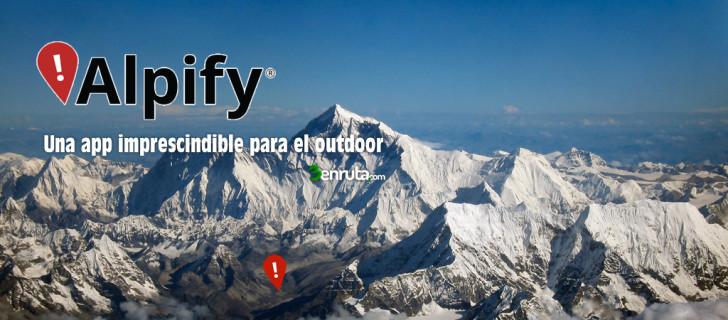 Alpify, una APP imprescindible para la montaña
