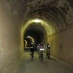Uno de los tuneles que atravesaremos