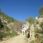 Entrada al Barranc dels Molins