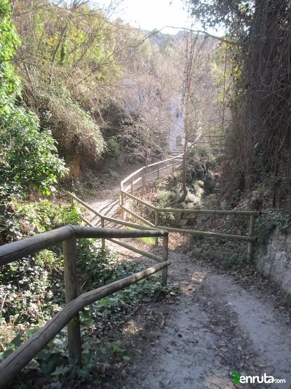 Bonito tramo por el Barranc dels Molins