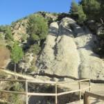 """Curiosa roca conocida como la """"Pata del elefante"""""""