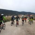 Inicio de la ruta por la Vía Verde de Alcoy