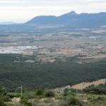 Vista desde la cima del Biscoi