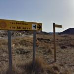 Indicador al nacimiento del Rio Mijares