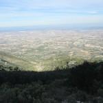 Vista del Valle desde la senda