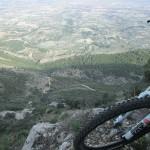 El valle de Albaida a nuestros pies
