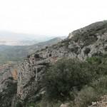 Vistas desde el sendero de subida al Benicadell