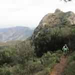 La cima del Benicadell frente a nosotros