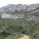 Vista del Benicadell tras nosotros