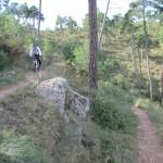Aquí la senda es fácil de ciclar y rápida