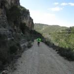 Bajando hacia el Barranco del Benecencil