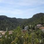 Vista del valle que tendremos que subir y por el que hemos bajado antes por senda