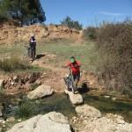 Cruzamos el rio Sellent