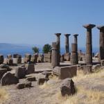 Ruinas del templo de Atenea en Assos