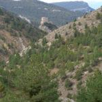 Vosta del Valle con el castillo de Alcalá de la Selva