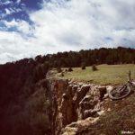 Acantilados en la roca