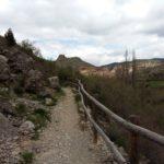 Camarena de la Sierra desde la senda fluvial