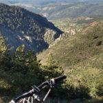 Vista de Noguera desde la pista de subida