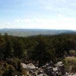 Vista desde lo alto del Puntal de la Tejera