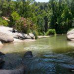 Descansito en La Fuente de los Baños junto al Rio Palancia