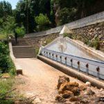 Preciosa fuente que encontramos cerca del Salto de la Novia