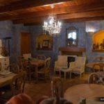 Mesas en una de las zonas del restaurante