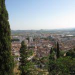 Vistas de Xàtiva durante la subida al castillo