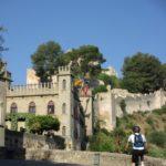 Llegada al Castillo de Xàtiva