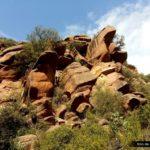 Las rocas del rodeno crean curiosas formas