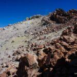 Llegando al crater del Teide