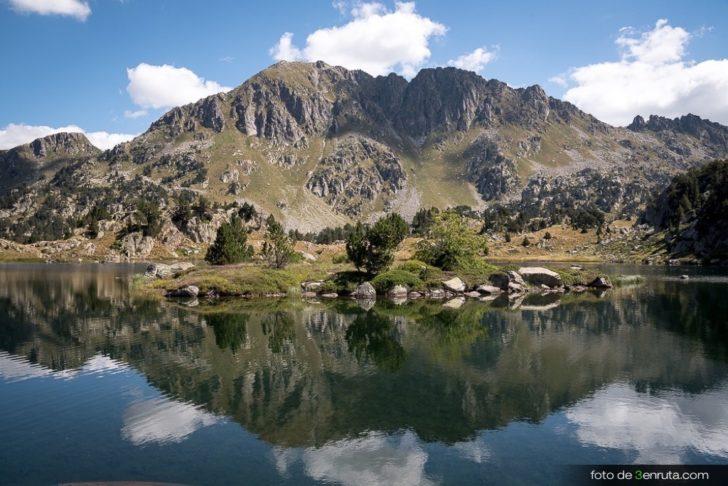 Ruta de los 7 lagos de Colomers