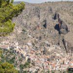 Panoramica de Ayna desde la parte alta de la ruta