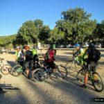 Iniciamos la ruta en el área recreativa de Casa Tàpena en Onil