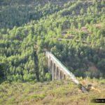 Puente de las siete lunas en la via verde de Alcoy