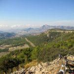 Vistas subiendo hacia el Pou del Surdo desde la Carrasqueta