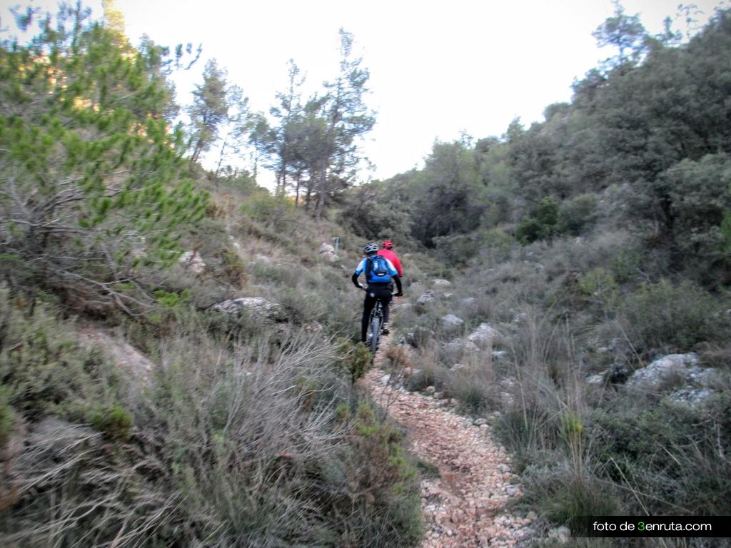 Sendero del Barranc de la Tassa