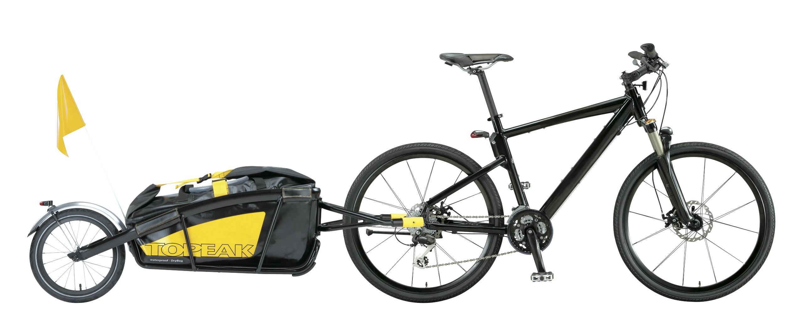 Ejemplo de remolque para bicicleta
