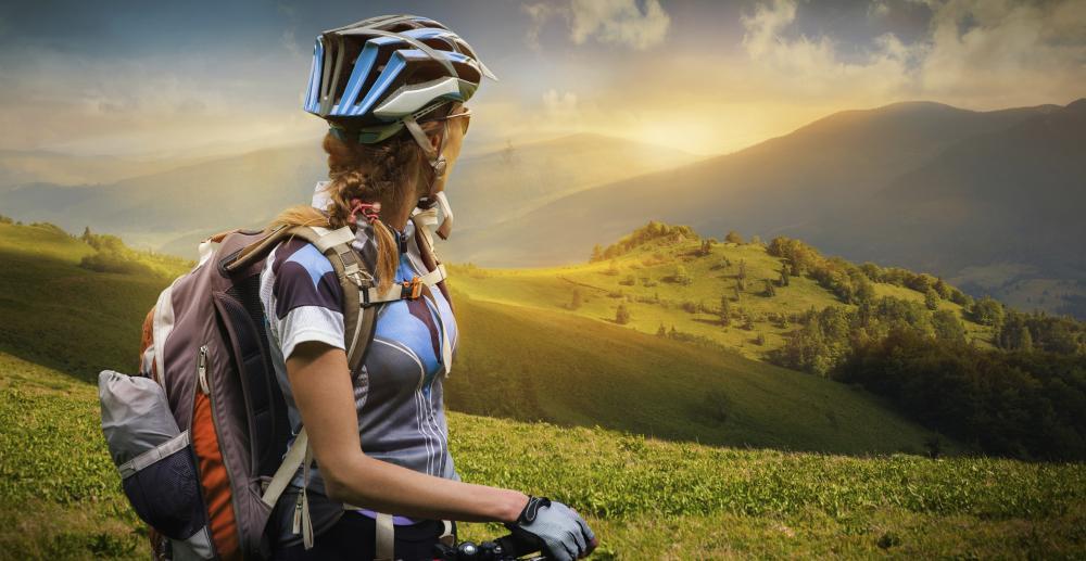 Con la bici puedes disfrutar de paisajes maravillosos